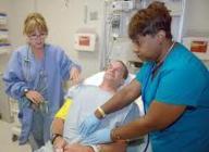man having a medical checkup