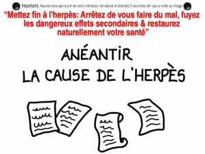 Comment contrôler les poussées d'herpès