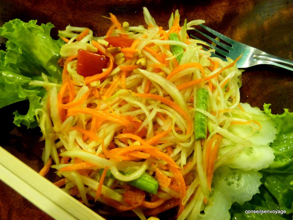 salade de papaye thailande