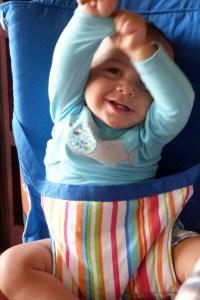 siège nomade voyage bébé
