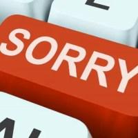 Una disculpa al lector. #BlogosferaCuba