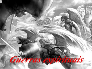 AGUERRADOSANJOS - Guerras espirituais