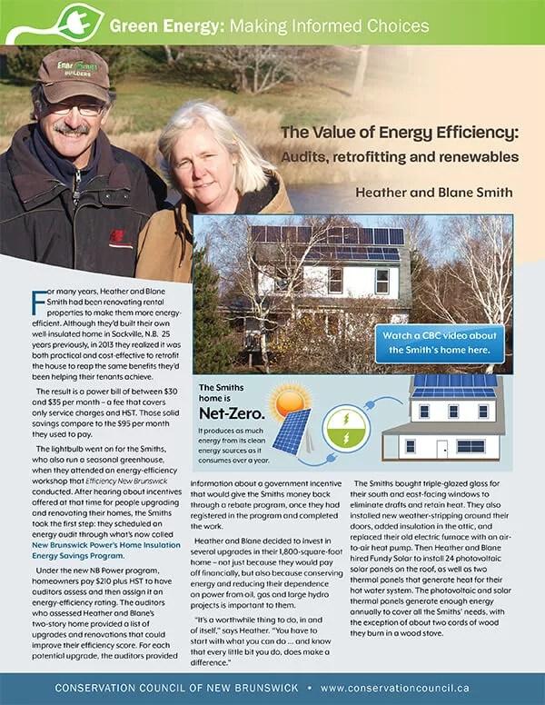 Renewable Smiths-E-1