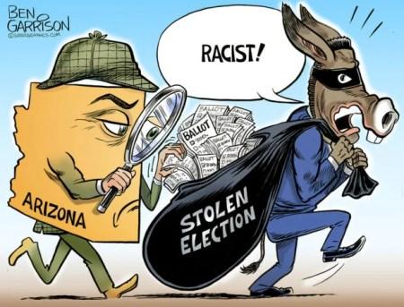 Eyes On The Arizona Audit – Ben Garrison Cartoon | LaptrinhX / News