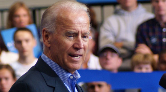 Biden declines to respond to Sanders' 'ridiculous' attack on his policy record