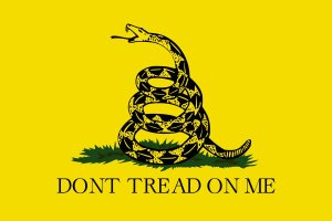 The Gadsden flag: symbol of the Tea Party