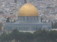 The Dome of the Rock, said to be the third holiest site in Islam. Even that designation distorts history, one of many lies from Islam. But only one conscious of Deity understands this. Moral relativism blinds one to this reality.