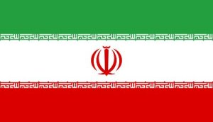 "Flag of the Islamic Republic of Iran. Trump just trashed a ""deal"" with them. (Will war result?) Time to imagine a post-Ayatollah Iran. Did Obama try to wangle an October Surprise in Iran? Maybe, but he probably didn't get it. And today: shall we grant asylum to those who might propose to impose ""Iranian"" government values on us?"
