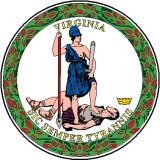 Seal of Virginia. Translation: Thus Always to Tyrants. The first battle in a wider war took place in Charlottesville on or about 12 August 2017. A second battle may shortly take place...