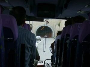 Entering Jerusalem, ancient capital of Israel