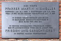 Remember Martin Niemöller during the Little Sisters of the Poor case. Remember also the political prisoners of his day.
