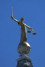 God deals justice, not evil.