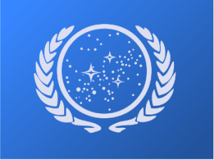 Seal and Flag of the United Federation of Planets. The Articles of Federation do not comport with the Constitution.