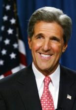 Then-Senator John Kerry (D-Mass.). Photo courtesy The United States Senate.
