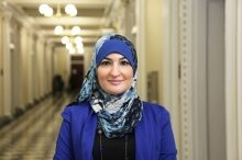Linda Sarsour from her White House days
