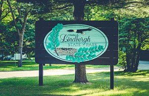 Lindbergh State Park, where rewilding might have gotten its first mention from Lindbergh himself.