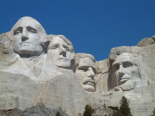 Mount Rushmore - a prime target for rewilding