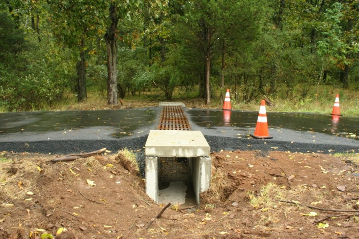 Wildlife Crossing Tunnels like this along with fencing reduce wildlife road mortality ©Kelly Triece