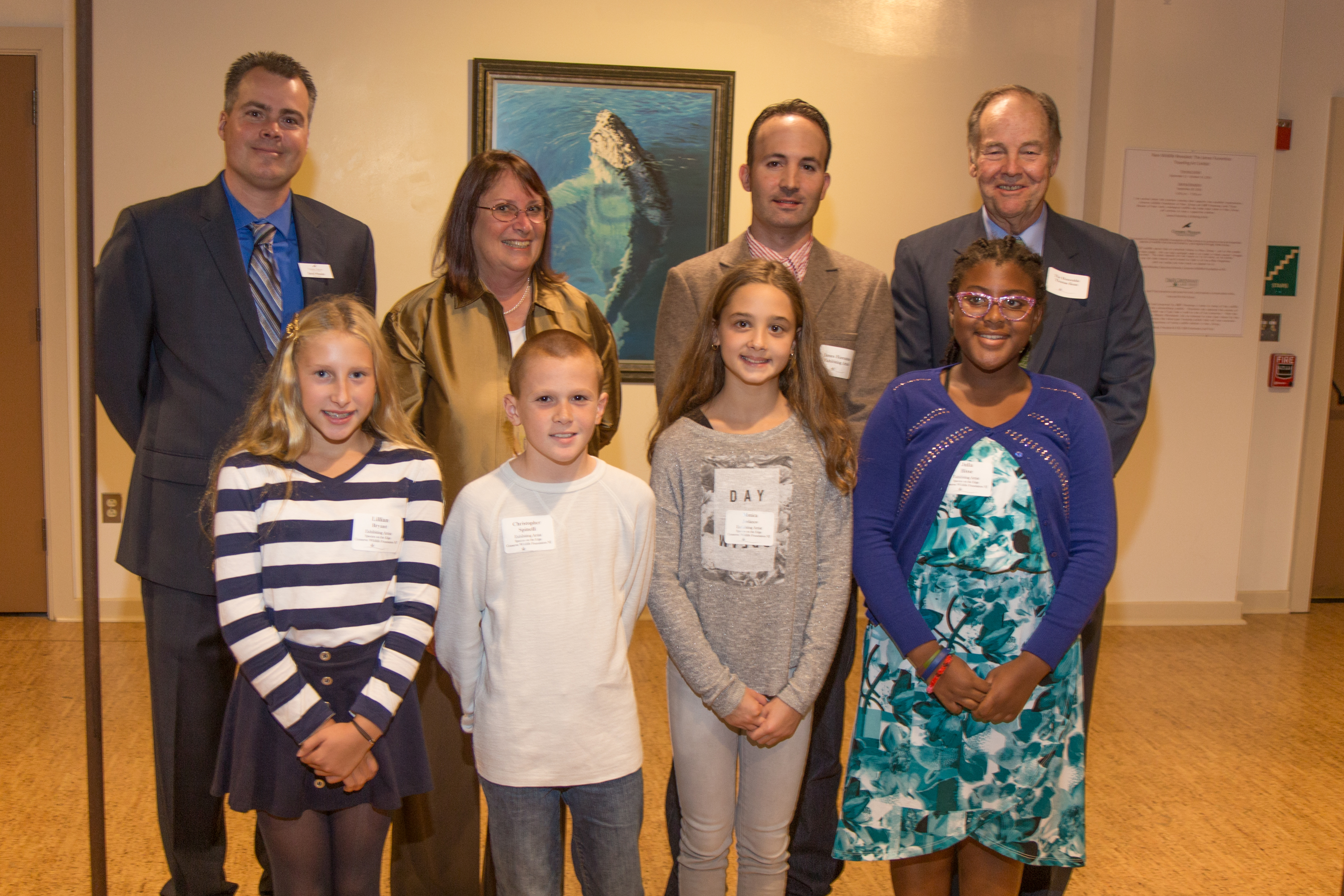species on the edge art essay contest conserve wildlife tom kean and four of our species on the edge art essay contest winners attended our opening reception for the premiere exhibition of rare wildlife