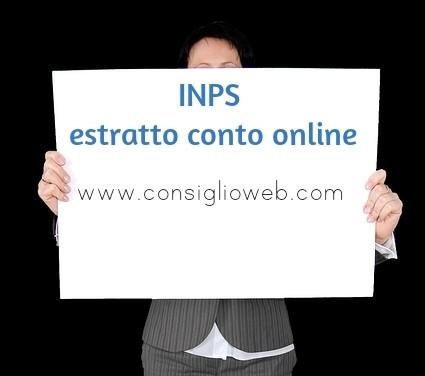 Inps ecocert domanda online certificazione contributi inps versati
