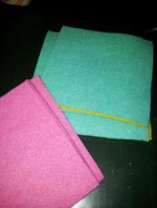 quadrati in feltro
