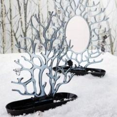 specchio portagioielli cora-antracite_1