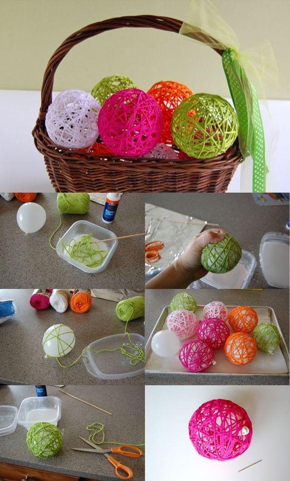 palline con palloncino
