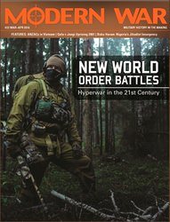 Modern War #22: New World Order Battles (new from Decision Games)
