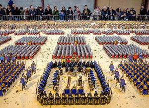 Battle of Zama Diorama set to Break World Record