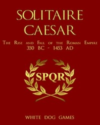 Solitaire Caesar (new from White Dog Games)