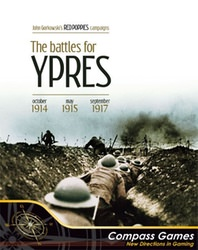 Red Poppies Campaigns: The Battles For Ypres (new from Compass Games)