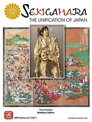 Sekigahara, 3rd Printing (new from GMT Games)