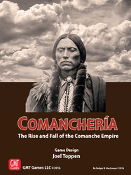 Comanchería: The Rise and Fall of the Comanche Empire (new from GMT Games)