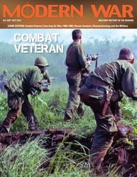 Modern War, Issue 31: Combat Veteran (new from Decision Games)