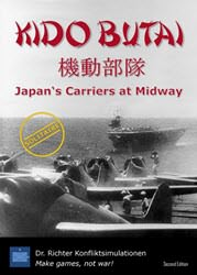 Kido Butai: Japan's Carriers at Midway, Second Edition (new from Dr. Richter Konfliktsimulationen)