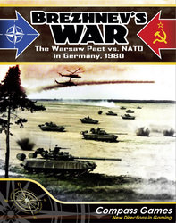 Brezhnev's War: NATO Vs. The Warsaw Pact In Germany, 1980 (new from Compass Games)