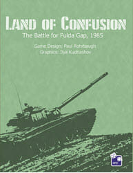 Land of Confusion: The Battle for Fulda Gap, 1985 (new from High Flying Dice Games)