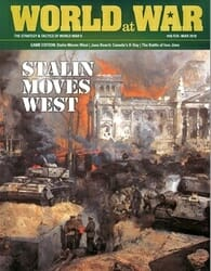 World at War, Issue 58: Stalin Moves West (new from Decision Games)
