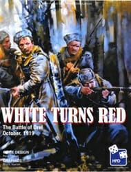 White Turns Red (new from High Flying Dice Games)