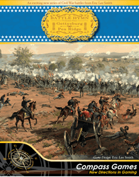 Battle Hymn Vol. 1: Gettysburg And Pea Ridge (new from Compass Games)