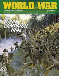 World at War, Issue 59: The Luzon Campaign, 1945 (new from Decision Games)