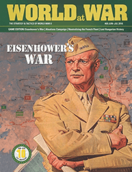 World at War, Issue 60: Eisenhower's War (new from Decision Games)