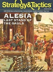 Strategy & Tactics, Issue 312: Alesia (new from Decision Games)