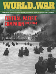 World at War, Issue 63: The Central Pacific Campaign (new from Decision Games)