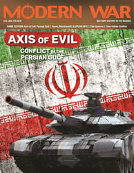 Modern War, Issue 39: Axis of Evil (new from Decision Games)