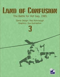 Land of Confusion 3 (new from High Flying Dice Games)