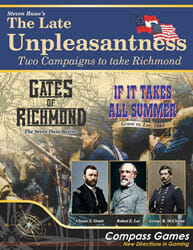 The Late Unpleasantness: Two Campaigns to Take Richmond (new from Compass Games)
