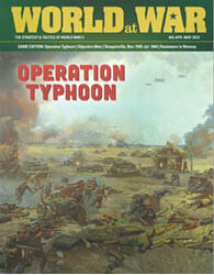 World at War, Issue 65: Operation Typhoon (new from Decision Games)
