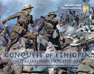 Panzer Grenadier: Conquest of Ethiopia (new from Avalanche Press)