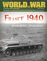 World at War, Issue 68: France 1940 (new from Decision Games)